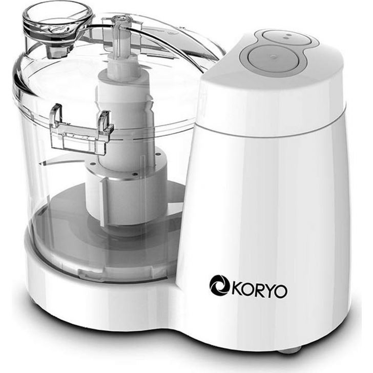 Stainless Steel Fruit and Vegetable Chopper - White by Koryo