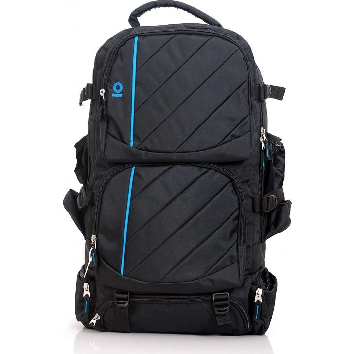 Explorer Polyester Rucksack in Black Colour by Milestone