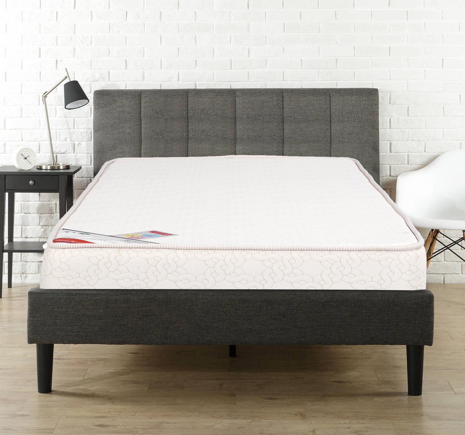 Majestic Pocket Spring Single Bed Mattress (75*36*6) in Cream Colour by HomeTown