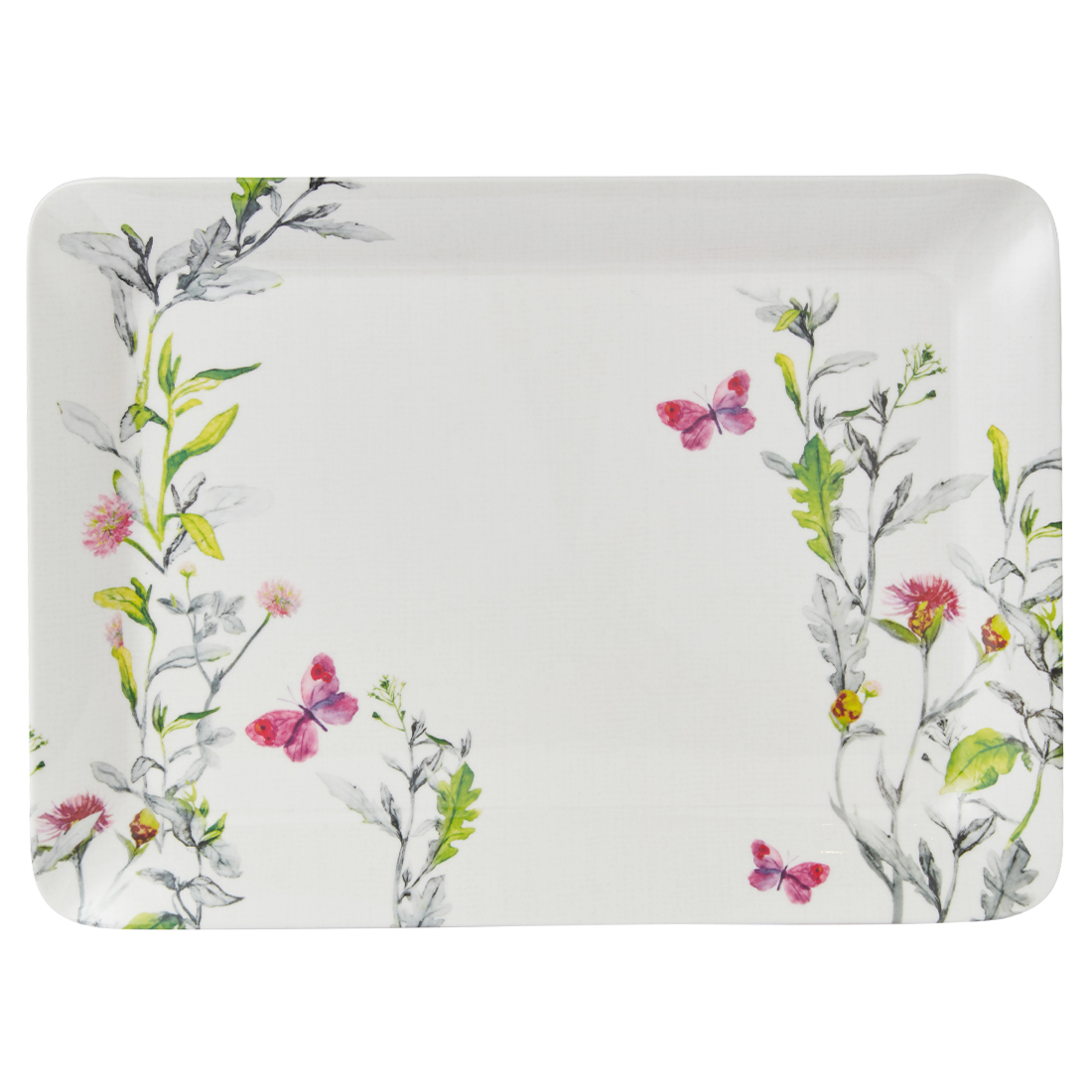 Aster Stylo Medium Tray Trays in Multicolour Colour by Living Essence