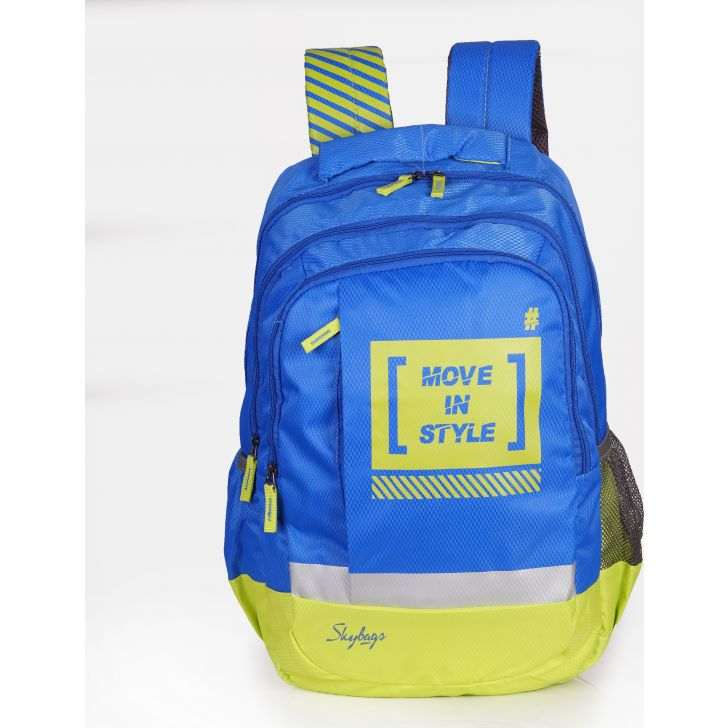 Skybags Pluto 02 Backpack (Blue)
