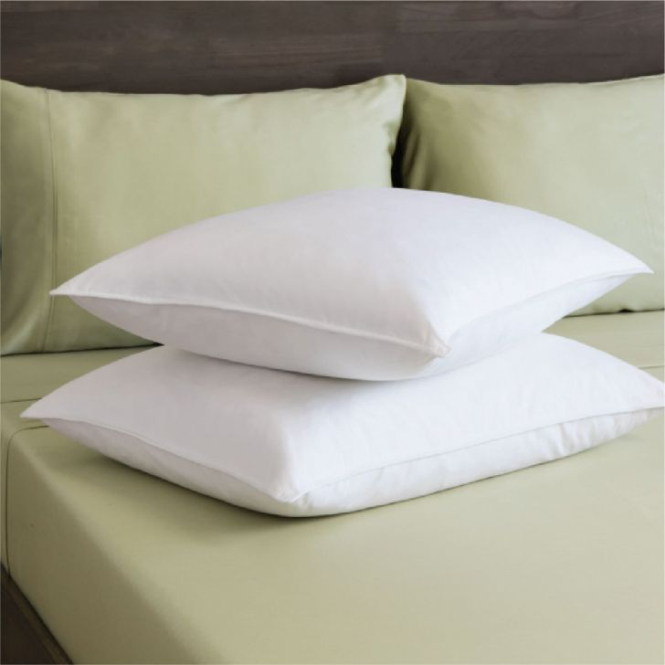 Fiesta Pillow 46 x 68 Cm in White Colour by Living Essence