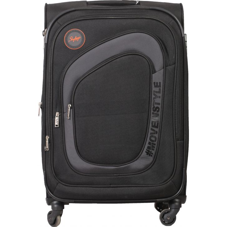 Skybags Stalwart Spinner Soft Trolley 69 cm (Frost Grey)