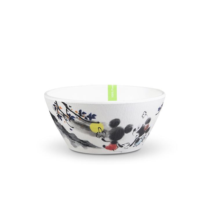 Serve Well Serving Bowls in Black And White Colour by Servewell