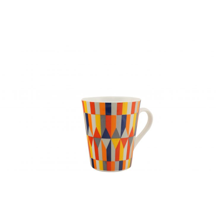 Soho Sing Mug Ceramic Coffee Mugs in Multicolor Colour by HomeTown
