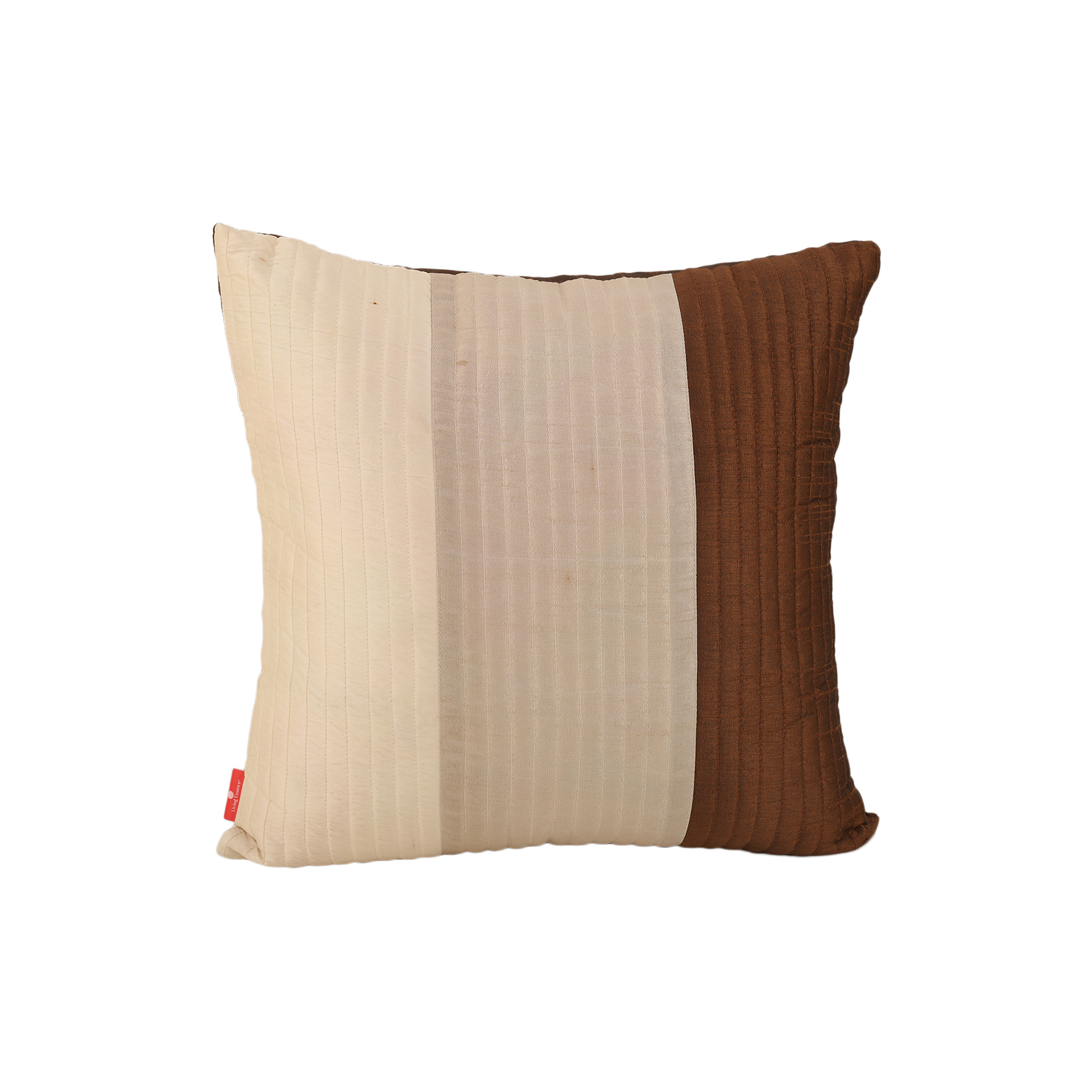 Fiesta Brown Polyester Cushion Covers in Brown Colour by Living Essence