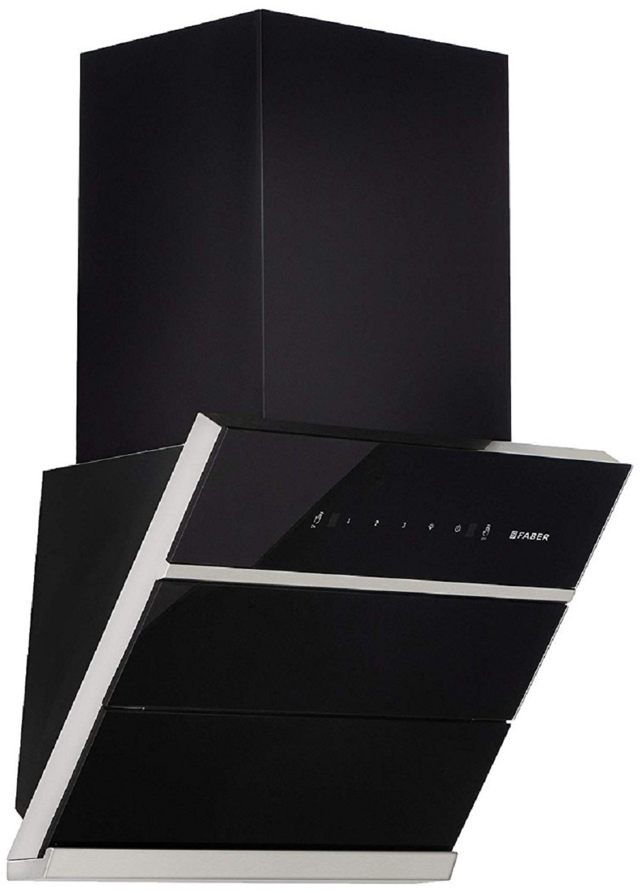 Faber Stainless steel Chimney Zenith FL SC BK 60 by HomeTown