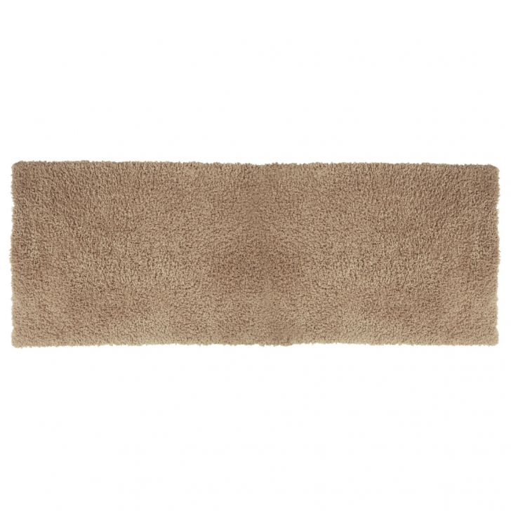 Nora Chenille Bath Mats in Beige Colour by Living Essence