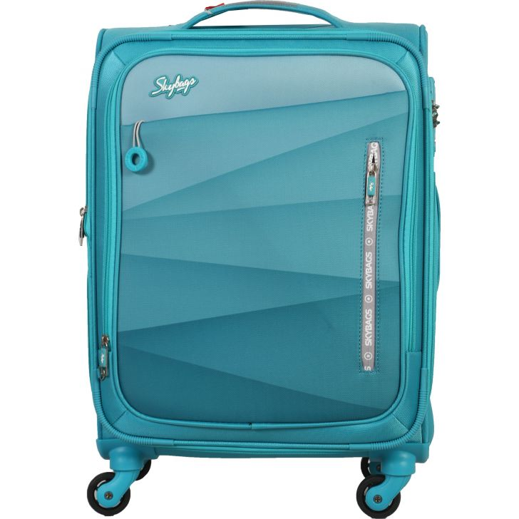 Skybags Reverb Soft Trolley 59 cm (Teal)