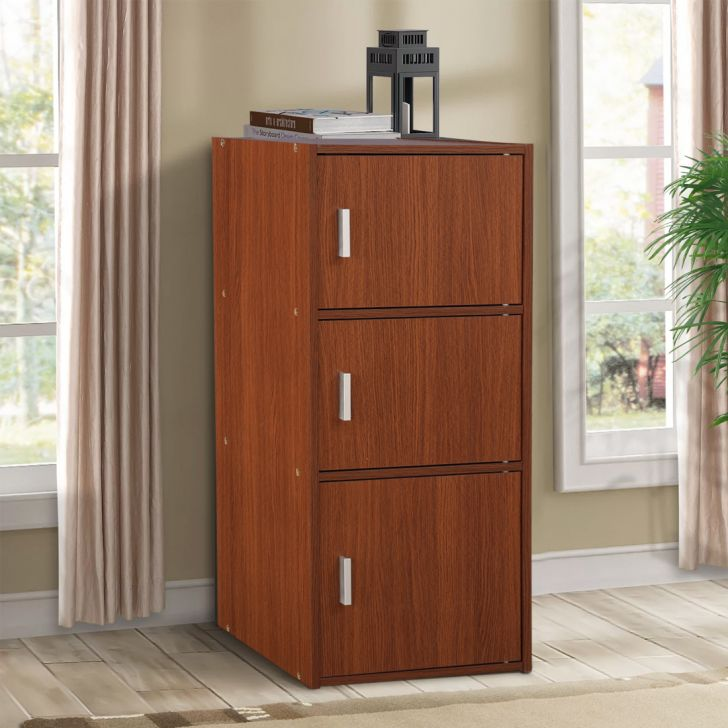 Albert Engineered Wood Office Storage in Oak Colour by HomeTown