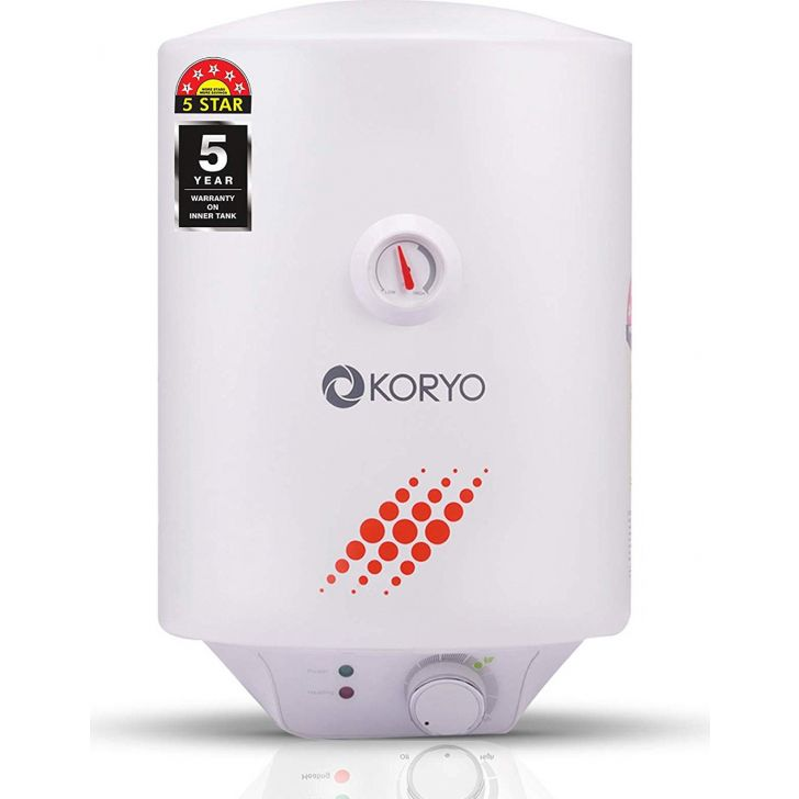 Storage Water Heater (25 Litres) - White by Koryo