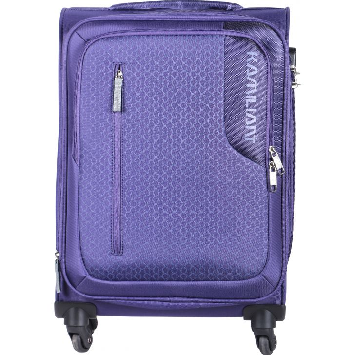Kamiliant by American Tourister Kojo Spinner  Soft Trolley 57 cm (Purple)
