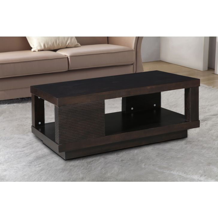Prestige Solid Wood Center Table in Brown Colour by HomeTown