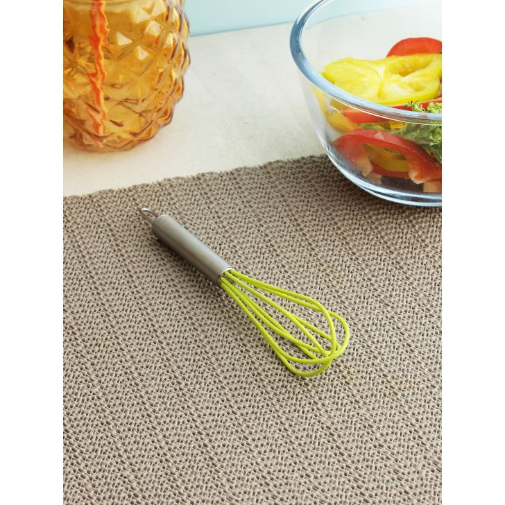 Bergner Silicon Whisk in Green Colour by HomeTown