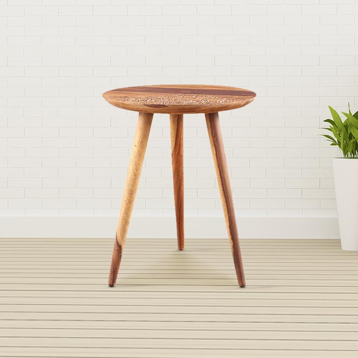 Levante Solid Wood Outdoor Table in Natural Wood Colour by HomeTown