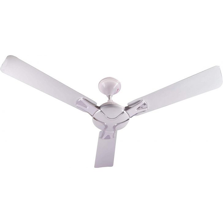 Decorative Ceiling Fan - Pearl White by Koryo