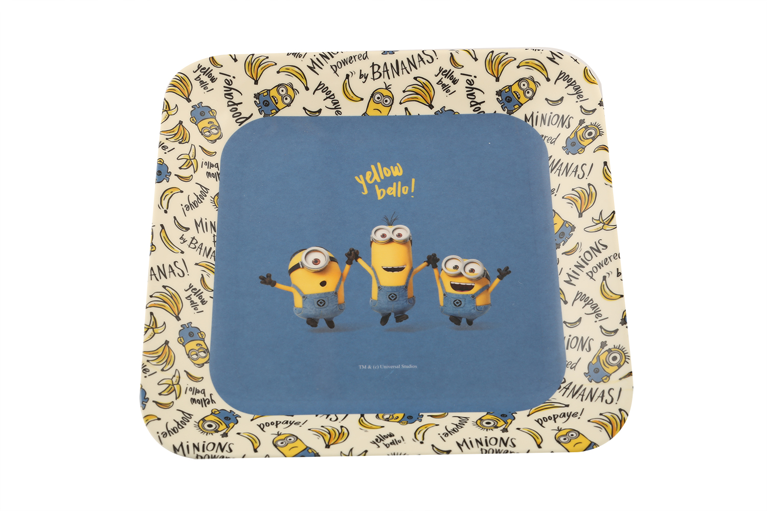 French Plate Minions Plates in Multicolor Colour by Servewell