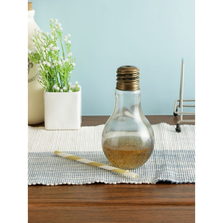 Glass Bottle in Transparent Colour by Living Essence