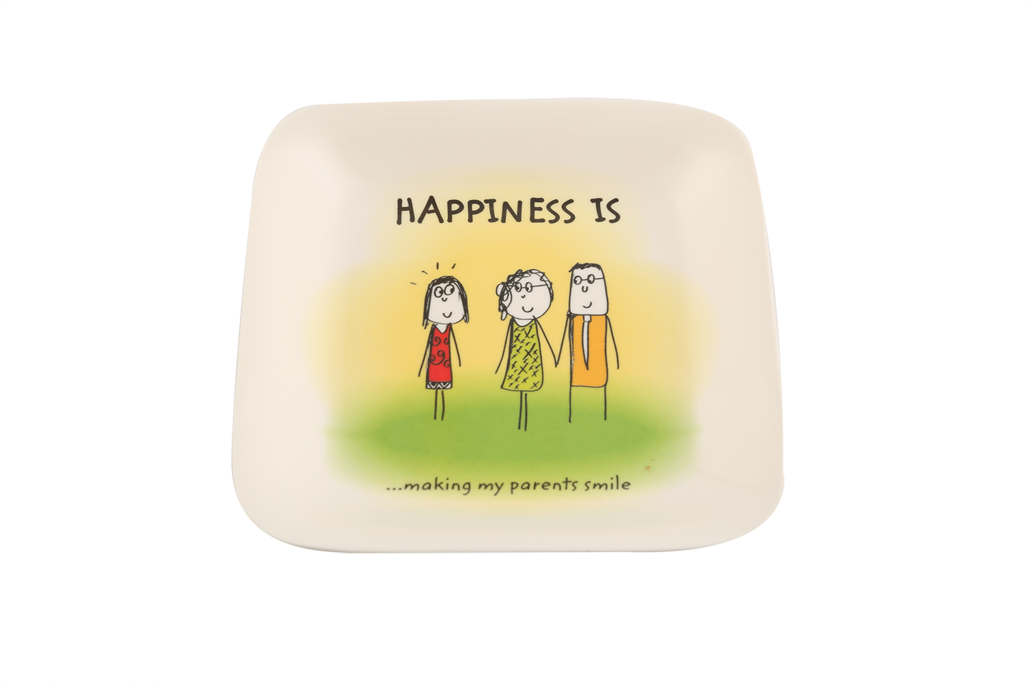 Happiness French Platter S - Rad Plates in Multicolor Colour by Servewell