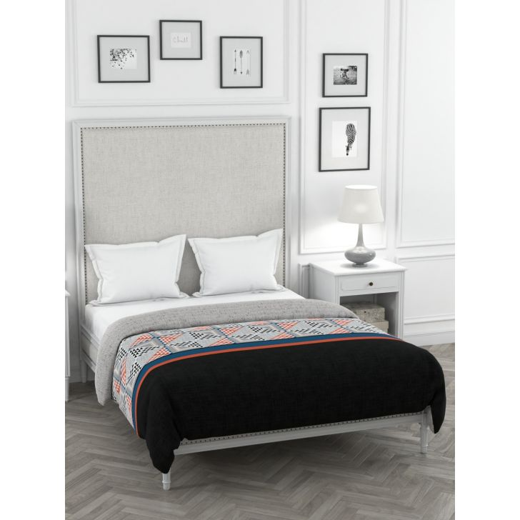 Portico New York Verve King Duvet Cover 274 cms x 229 cms in Multicolor Color by Portico