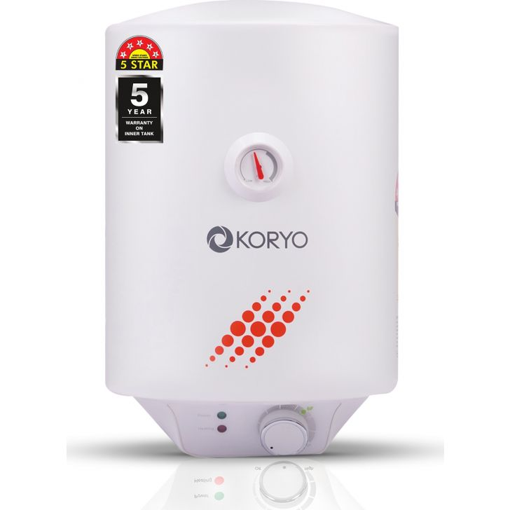 Storage Water Heater (6 Litres) - Wite by Koryo