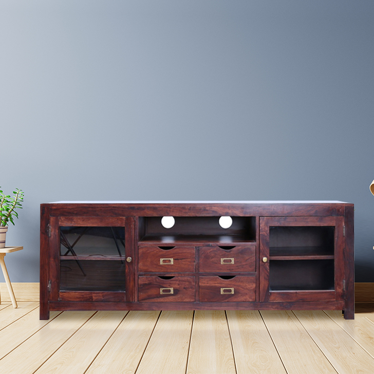 Holly TV Unit in Walnut Colour by HomeTown