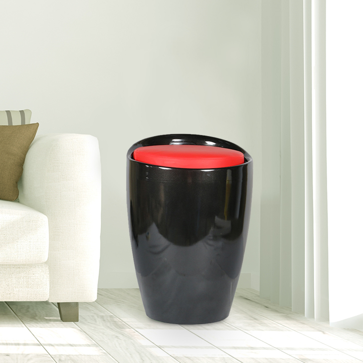 Luna ABS Stool in Black Colour by HomeTown