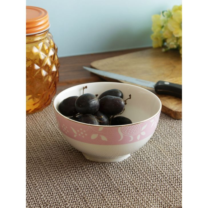 Living essence Ceramic Bowls in Multi Colour by Living Essence