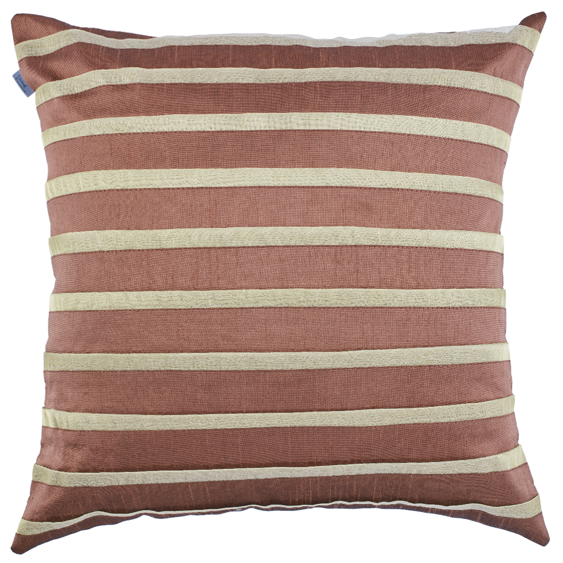 Michelle Polyester Cushion Covers in Brown Colour by Living Essence