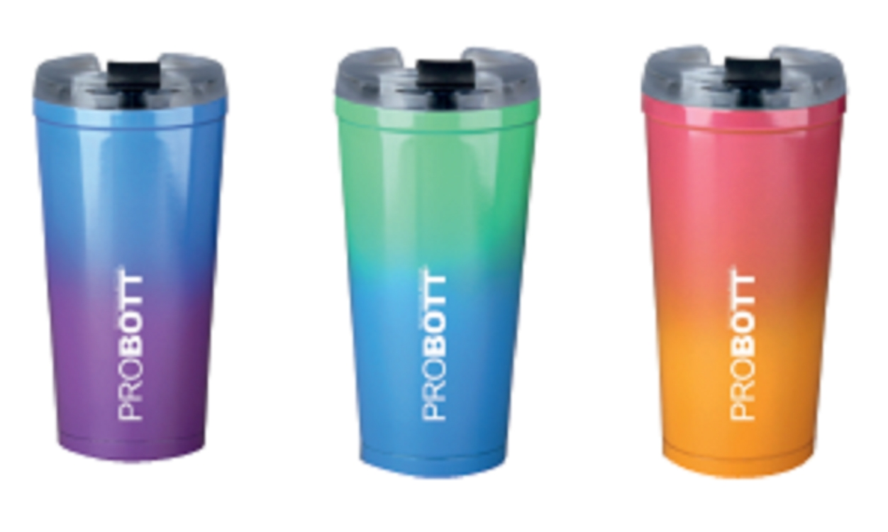 Probott Stainless steel Thermoware in Blue / Green / Pink Colour by Probott