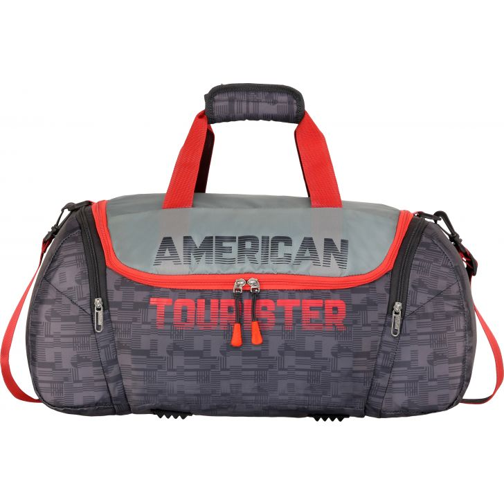 American Tourister Grid 55cm Airbag (Grey)