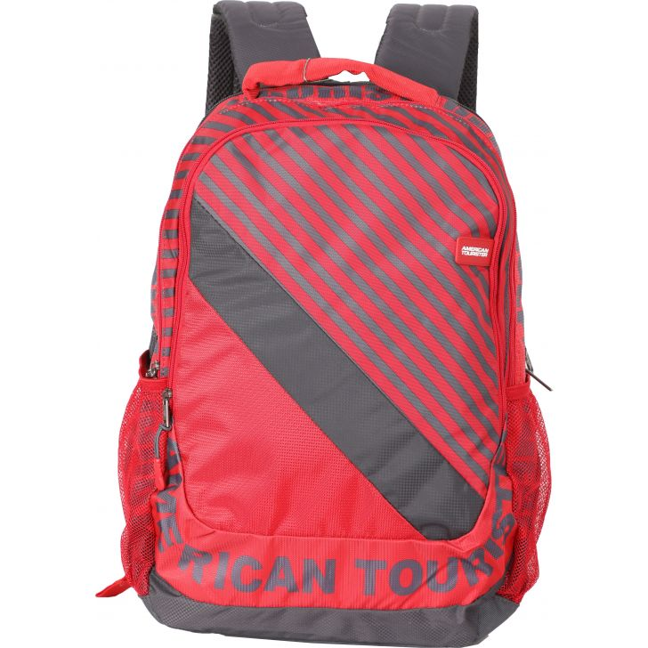 American Tourister Pop Nxt Backpack Medium (Red)