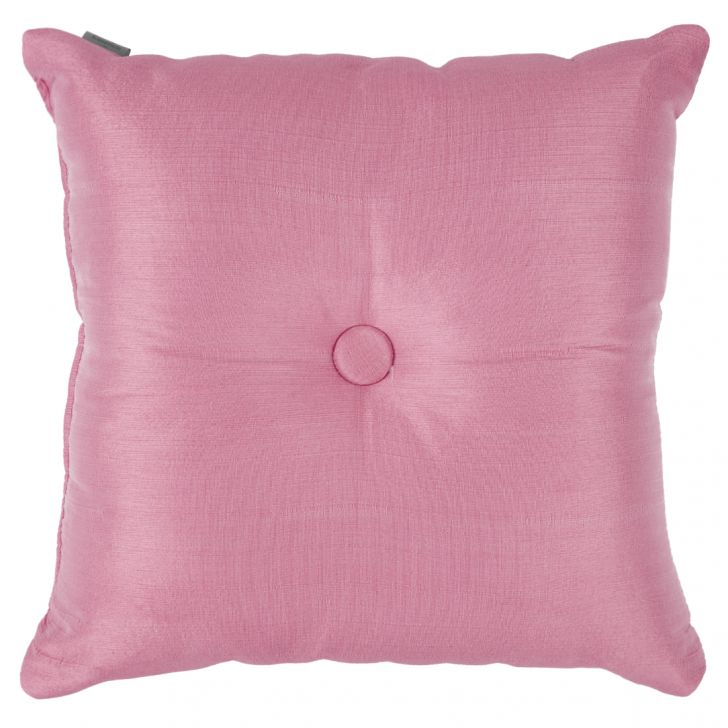 Fiesta Filled Cushion Pink Polyester Filled Cushions in Pink Colour by Living Essence
