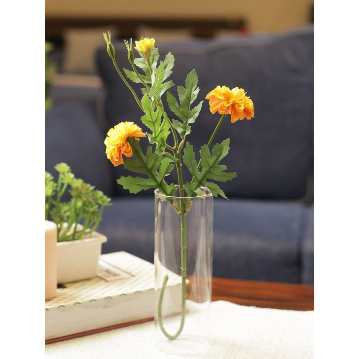 Marbella Bud Polyester Artificial Flower in Multi color Colour