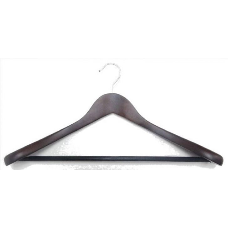 Bonita Koaty-Coat Hanger Single Lotus Wood Hangers & Hooks in Wooden Touch Colour by Bonita
