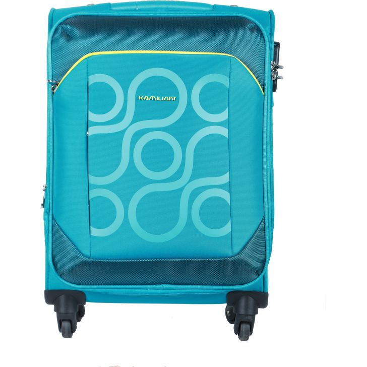 Kamiliant by American Tourister  Harita Spinner Soft Trolley 55 cm (Aquamarine)