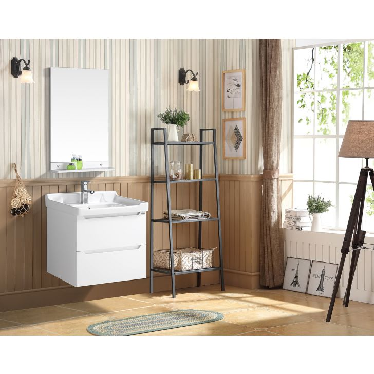 Titan Bath Vanity in White Colour by HomeTown