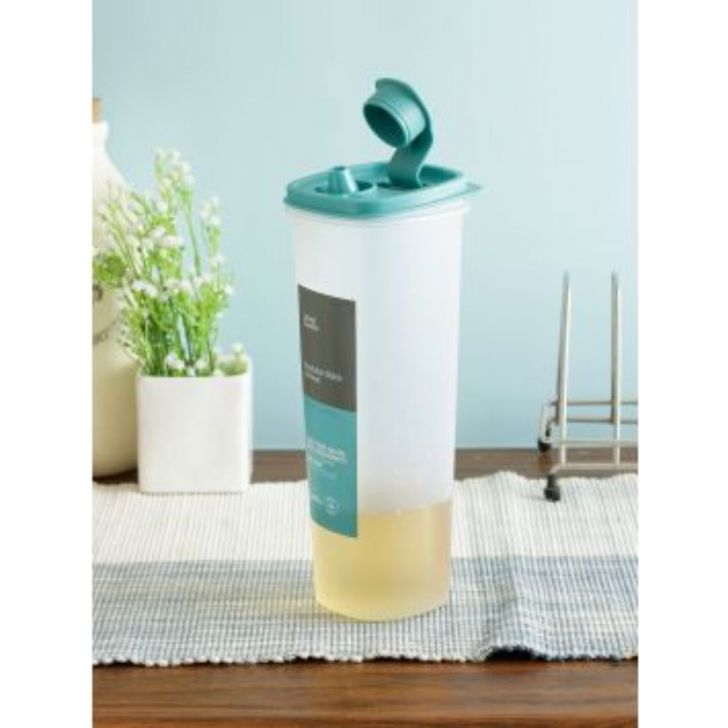 Modular Mate Plastic Square Oil Can 1 Ltr by Living Essence