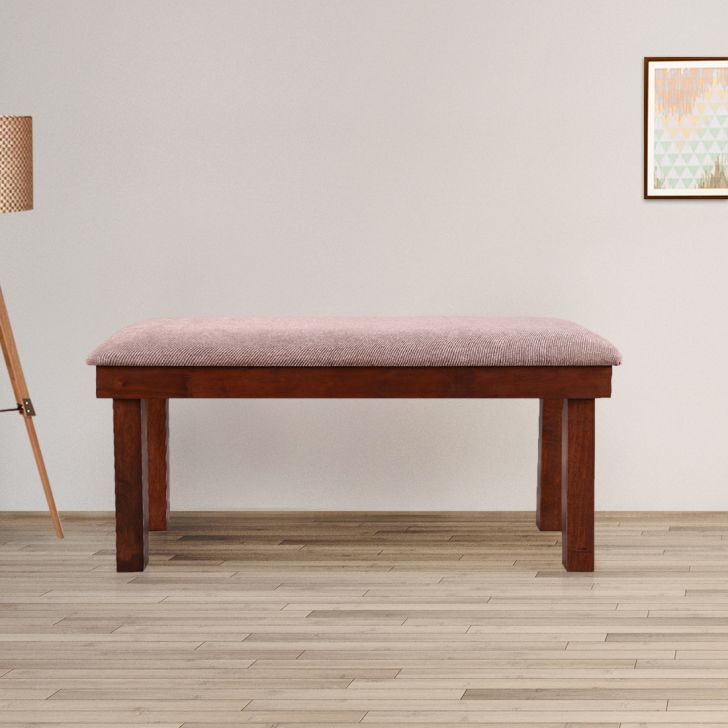Hopton Solidwood Dining Bench for 6 Seater in Walnut Colour by HomeTown