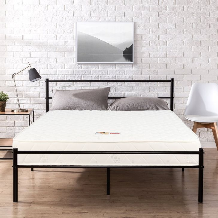 Mattress Comfort Pocket Spring King Bed (78*72*6) in Cream Color by HomeTown