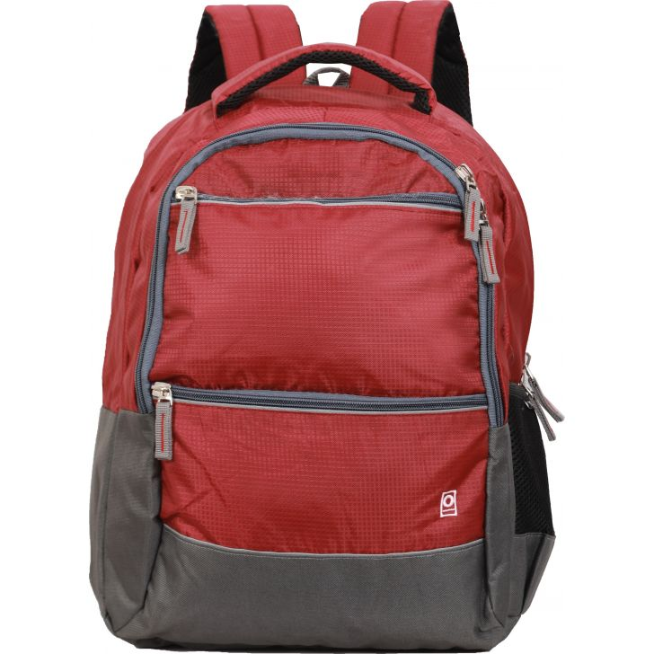 Milestone Galaxy Laptop Backpack (Red)