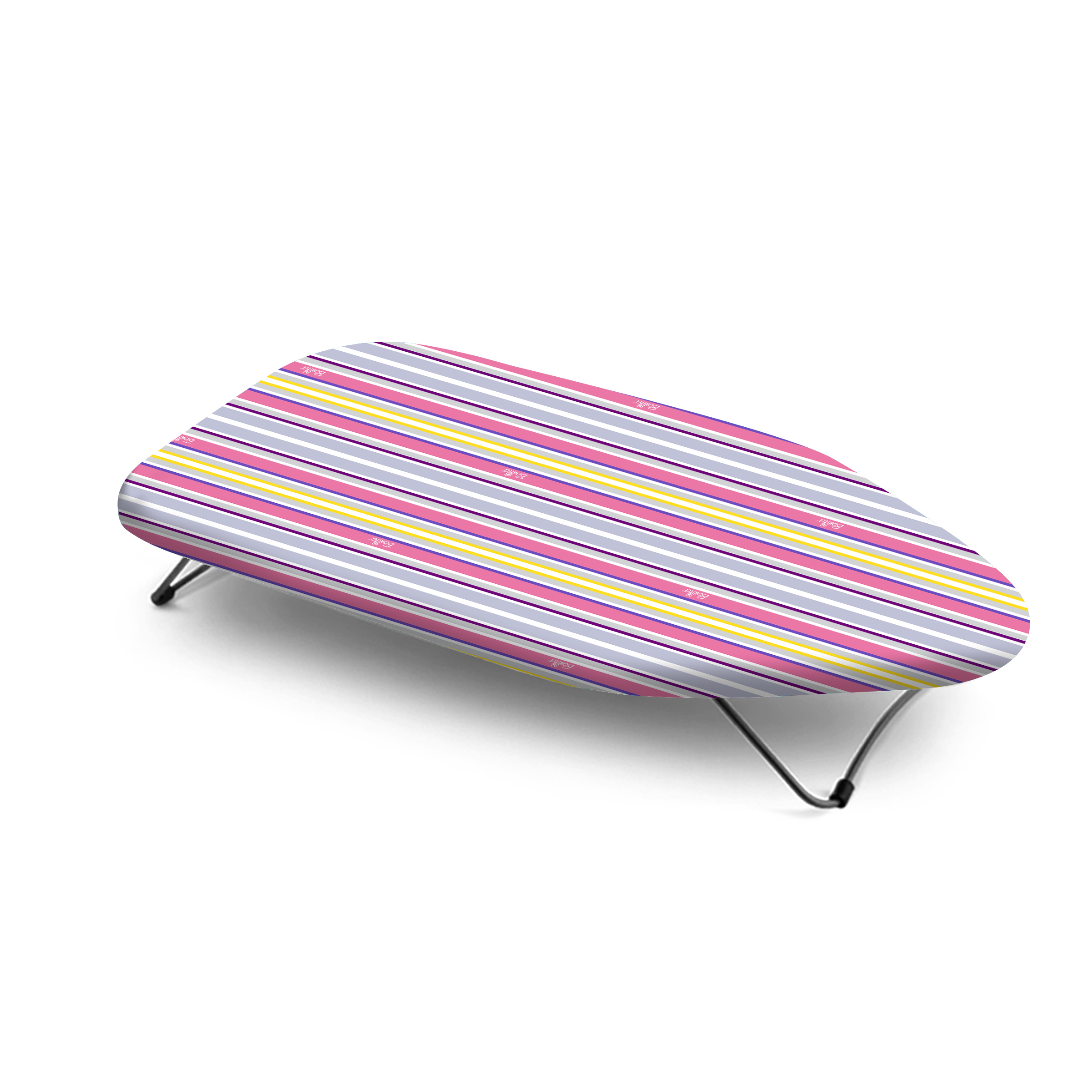 Mini Tabletop Ironing Board Mild Steel Mesh Ironing Boards in White Colour by Bonita