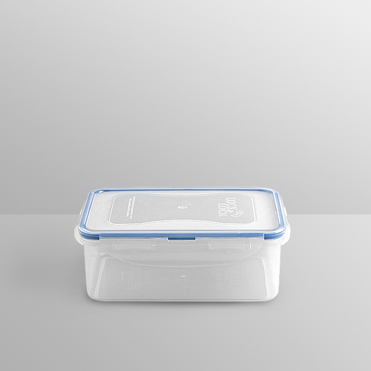 Lock & Lock Rectangular Container 850 Ml Polypropylene Containers in Transparent Colour by Lock & Lock