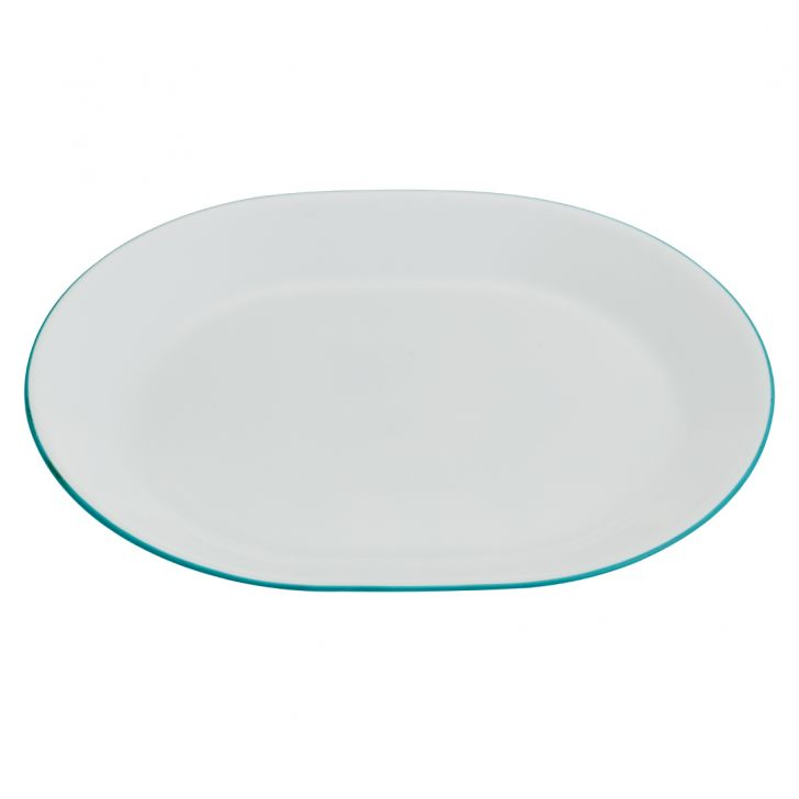 Corelle serving Platter Graden Vitrelle Platters in White Colour by Corelle