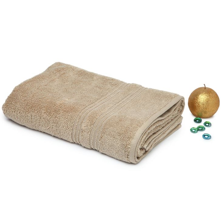 Spaces Swift Dry Camel Cotton Bath Towel