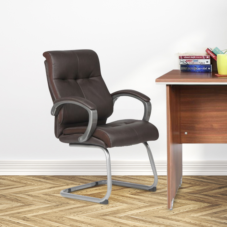 Hugo Fabric Office Chair in Pu & Nylon Colour by HomeTown