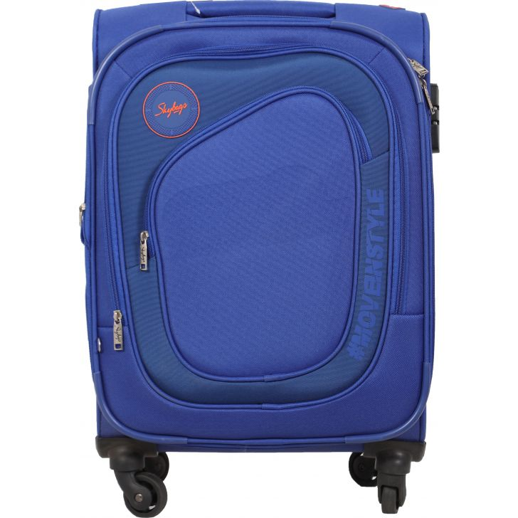Skybags Stalwart Soft Trolley 57 cm (Royal Blue)
