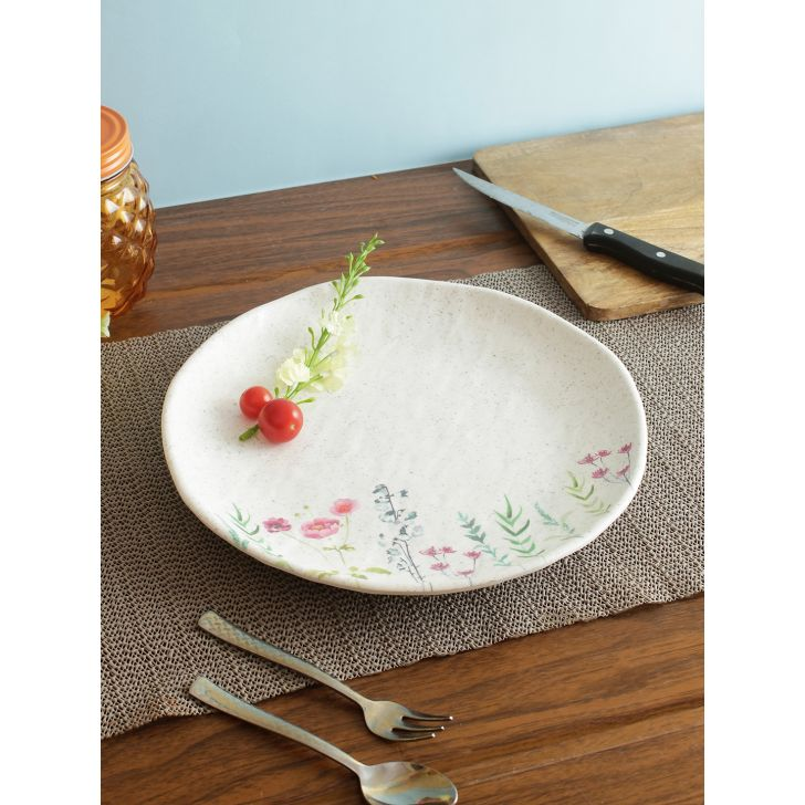 Nora Tropical Melamine Plate 27 Cm in Multi Colour by Living Essence