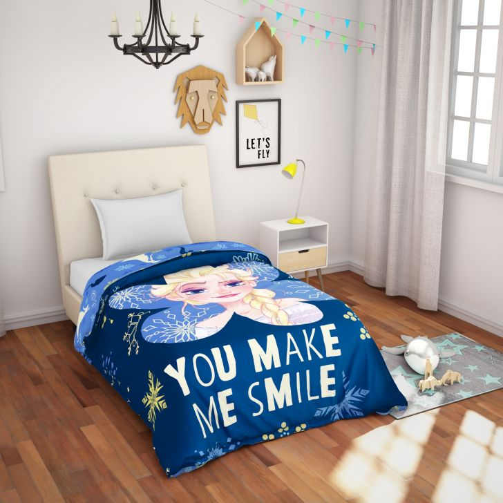 Spaces Disney Frozen Cotton Single Comforter