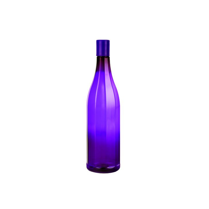 Tranquil Water Bottle 1Ltr Of Violet Plastic Glass Bottles in Voilet Colour by Living Essence